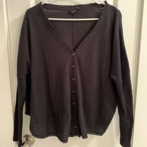 Urban Outfitters Knit Button Down